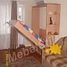 Шкаф-кровать с угловым окончанием
