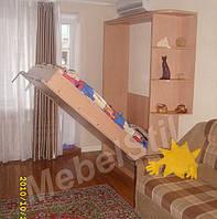 Шкаф-кровать с угловым окончанием, фото 1