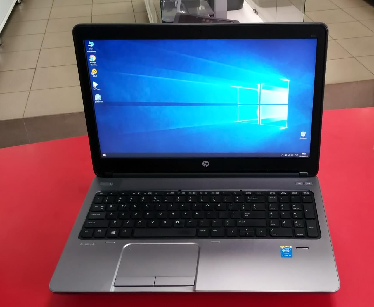 "Ноутбук HP ProBook 650 G1 15.6"" Intel Core i5 2.5 GHz 4 GB RAM 320 HDD Black-Silver Б/У"