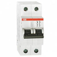 Автоматический выключатель ABB SH202-B32 (Автомат АББ 2-полюсный 32А)