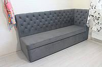 Кухонний диван зі спальним місцем (Світло-сірий), фото 1