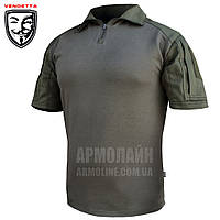"Рубашка тактическая короткий рукав ""VENDETTA"" Olive (ВИДЕО), фото 1"