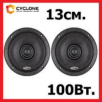 Акустика для авто CYCLONE PX-132, 13 см, 2-полос., 100Вт ВИДЕООБЗОР, фото 1