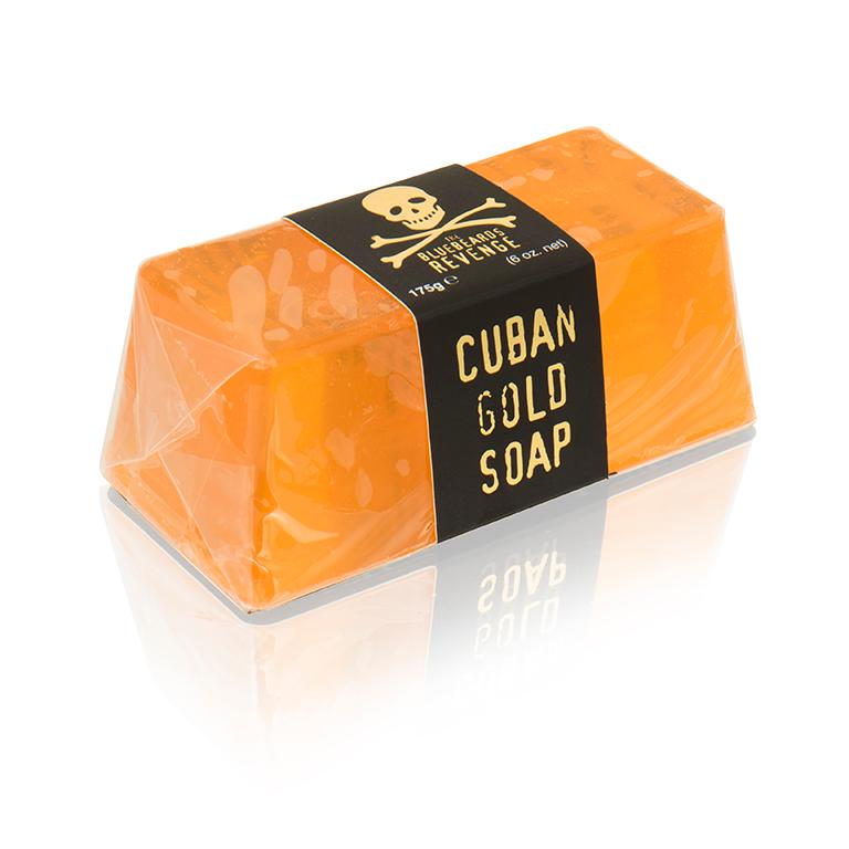 Туалетное мыло The Bluebeards Revenge Cuban Gold Soap 175 г.