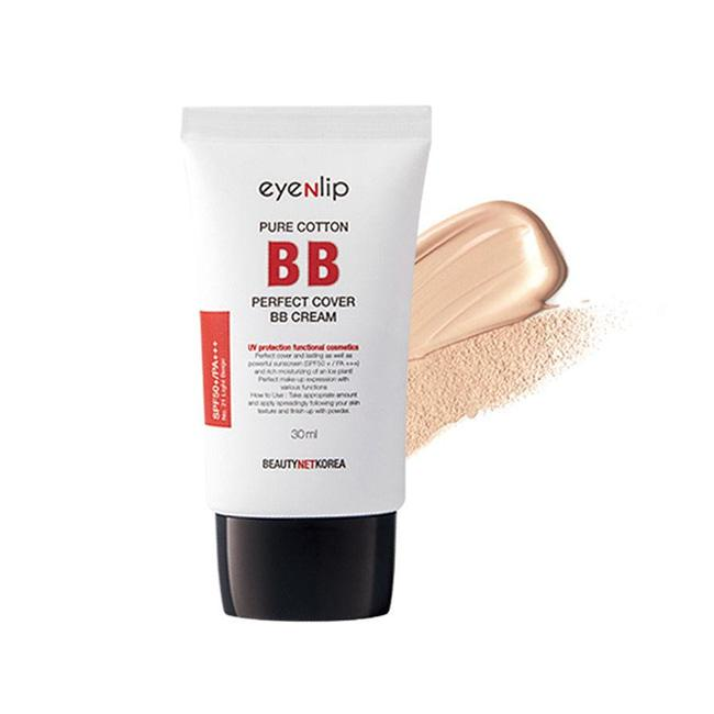 EyeNlip Матирующий BB крем 23 Natural Beige Pure Cotton Perfect Cover BB Cream