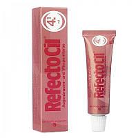 Краска для бровей и ресниц RefectoCil, красная №4.1