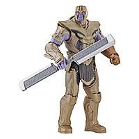 """Фигурка суперзлодея Танос 15см """"Мстители: Завершение"""" E3939AS00 (Avengers Marvel Thanos Deluxe Figure), фото 1"""