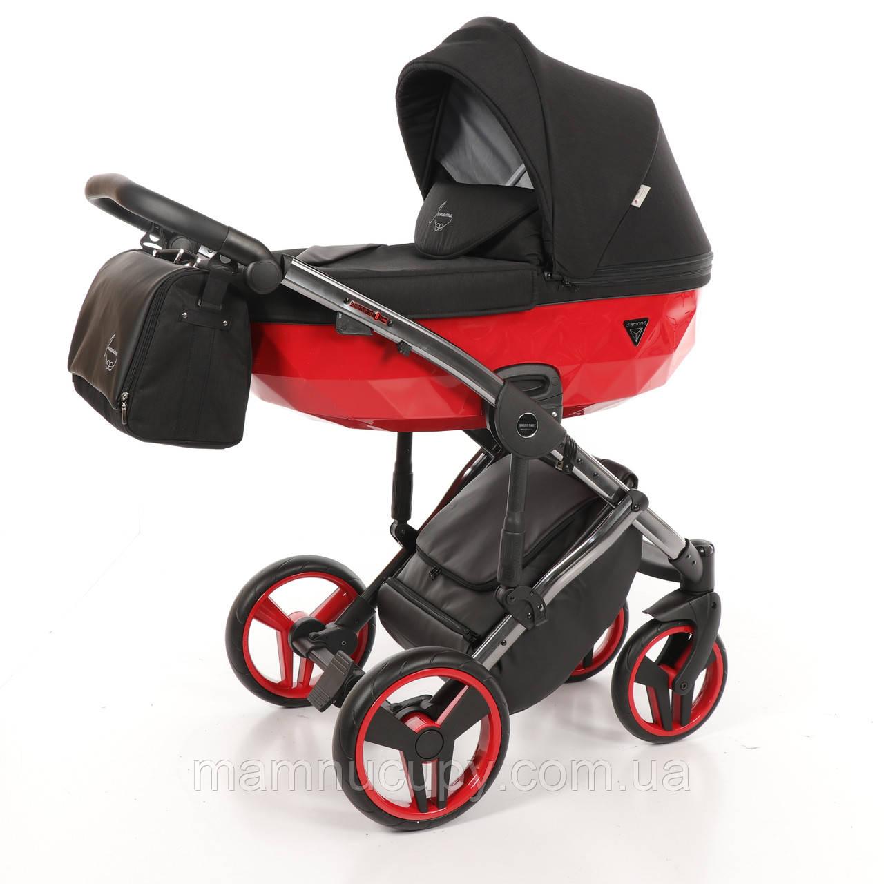 Детская универсальная коляска 2 в 1 Junama Diamond S-line 01