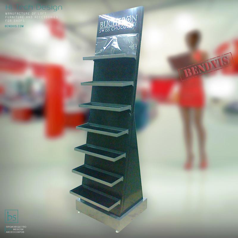Изготовление торгового оборудования на заказ BUCHERON
