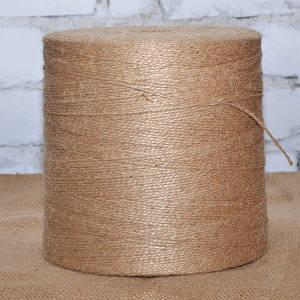 Шпагат джутовый 10 кг, 3 мм, 2 нити