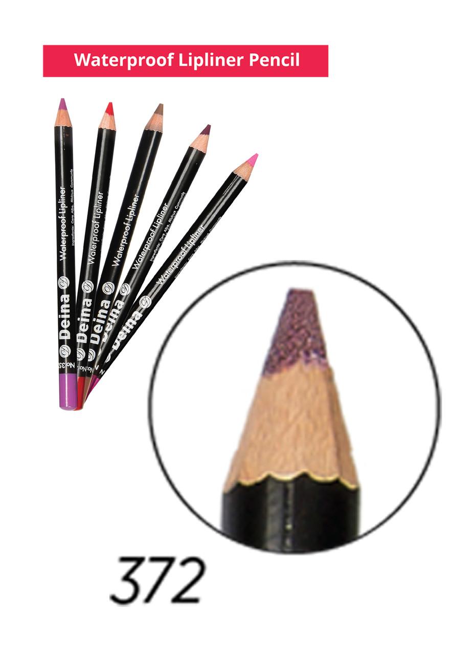 Водостійкий олівець для губ - Waterproof Lipliner Pencil Deina