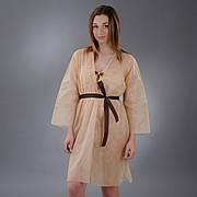 Халат кимоно с поясом Doily, размер L/XL, XXL, 1 шт. из спанбонда