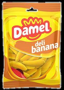 Жуйки Damel 100г Bananas банани, 18шт/ящ