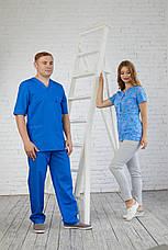 Мужской медицинский костюм Герман - Чоловічий медичний костюм Герман - Одежда для массажиста, фото 2