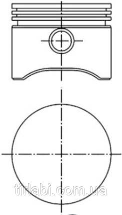 Поршень компрессора VOLVO/DAF 0,76мм