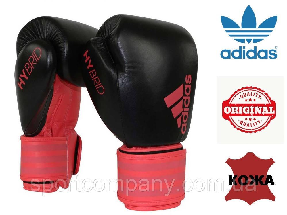 Перчатки для бокса Hybrid Dynamic Fit 200 Adidas (ADIHDF200, черно-красные)