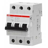 Автоматический выключатель ABB SH203-B32 (Автомат АББ 3-полюсный 32А)