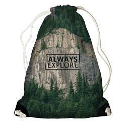 Рюкзак-мішок Always explorer (RM_ORG002_BL)