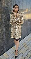 Шуба из меха рыси из животиков. Модель 20993856, фото 1