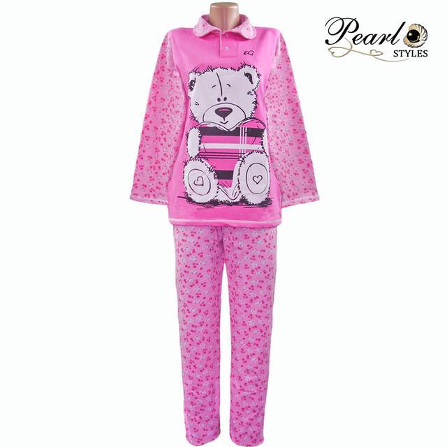Пижама теплая женская Мишка