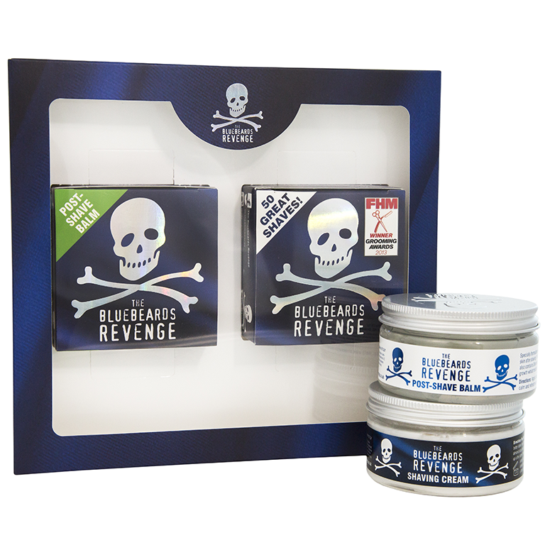 Мужской подарочный набор The Bluebeards Revenge Shaving Cream & Post-Shave Balm Kit
