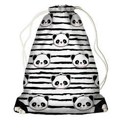 Рюкзак-мішок Панди (RM_HT001_BL)