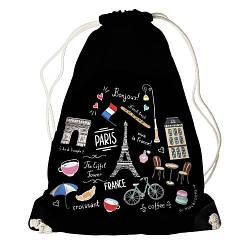 Рюкзак-мішок Франція (RM_ILI002_BL)