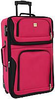 Дорожный чемодан на колесах Bonro Best маленький вишневый