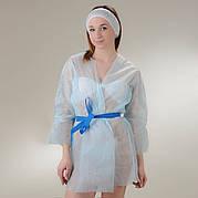 Куртка для прессотерапии с поясом Doily Размер L/XL, XXL (1 шт/пач) из спанбонда Голубой, L/XL, Спанбонд