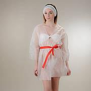 Куртка для прессотерапии с поясом Doily Размер L/XL, XXL (1 шт/пач) из спанбонда Белый, Спанбонд