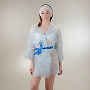 Куртка для прессотерапии с поясом Doily Размер L/XL, XXL (1 шт/пач) из спанбонда Голубой, Спанбонд