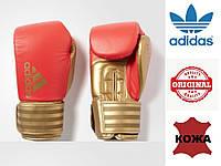 Перчатки для бокса Hybrid Dynamic Fit 200 Adidas (ADIHDF200, красно-золотые), фото 1