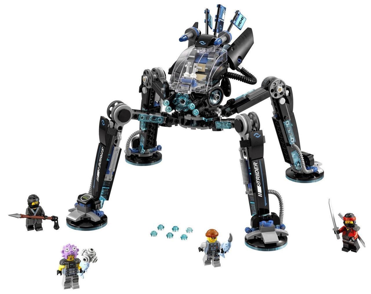 """Конструктор Ninjago Movie Lepin 06054 (аналог Lego 70611) """"Водяной Робот"""" 528 деталей"""