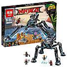 """Конструктор Ninjago Movie Lepin 06054 (аналог Lego 70611) """"Водяной Робот"""" 528 деталей, фото 5"""