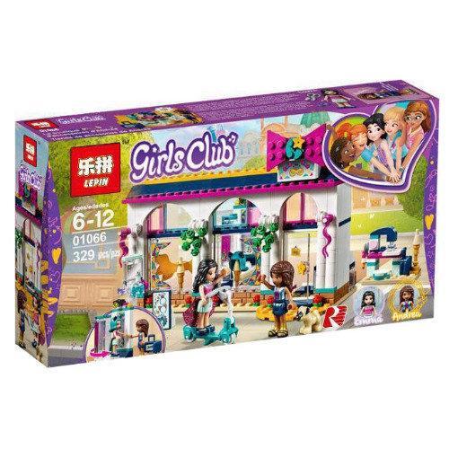 "Конструктор Lepin 01066 ""Магазин аксессуаров Андреа"" Френдс, 329 деталей. Аналог Lego Friends 41344"