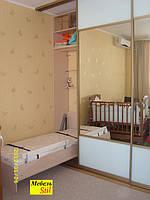 Шкаф-кровать, встроенная в шкаф-купе