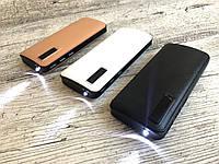 PowerBank C48 50000mAh +LED фонарик, 3 USB, Повербанк, Внешний аккум, Павербанк