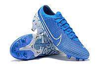 Футбольные бутсы Nike Mercurial Vapor XIII Elite FG Blue Hero/White/Obsidian, фото 1