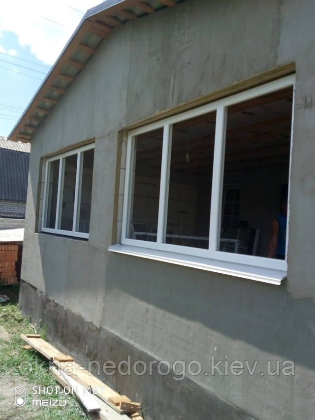 Трехстворчатые окна WDS 7 Series в селе Колонщина