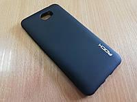 Черный матовый силиконовый чехол для Huawei Y5  II 2016