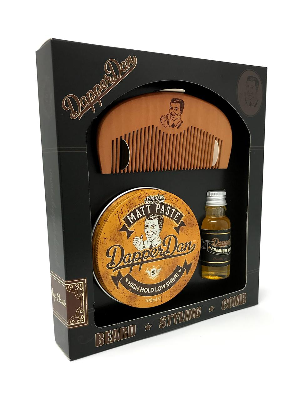 Мужской подарочный набор Dapper Dan Hairy Man Combo Gift Set