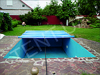 Тенты-накрытия для  бассейна
