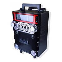 Колонка Комбик Bluetooth MP3 FM Радиомикрофон Пульт ДУ Акустическая система Golon RX-2088BT