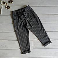 ✅Брюки для девочки серые Штанишки модные трикотажные Размеры 104
