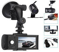 Видеорегистратор с двумя камерами + GPS x3000, фото 1
