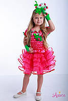 Карнавальный костюм Малина для девочки, фото 1