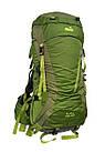 Рюкзак туристический 50 + 10 л Tramp Floki зеленый. Рюкзак туристический 60л., фото 3