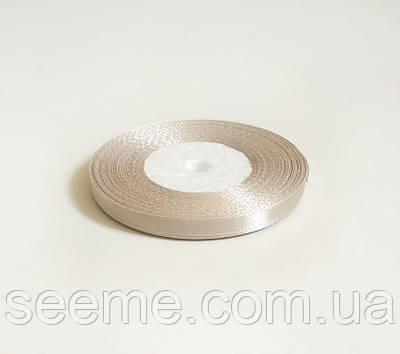 Лента атласная, 6 мм, цвет ирландский крем
