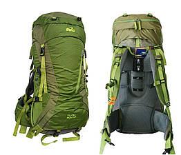Туристичний рюкзак Floki 50 + 10 зелений. Рюкзак туристический 60л. Рюкзак похідний