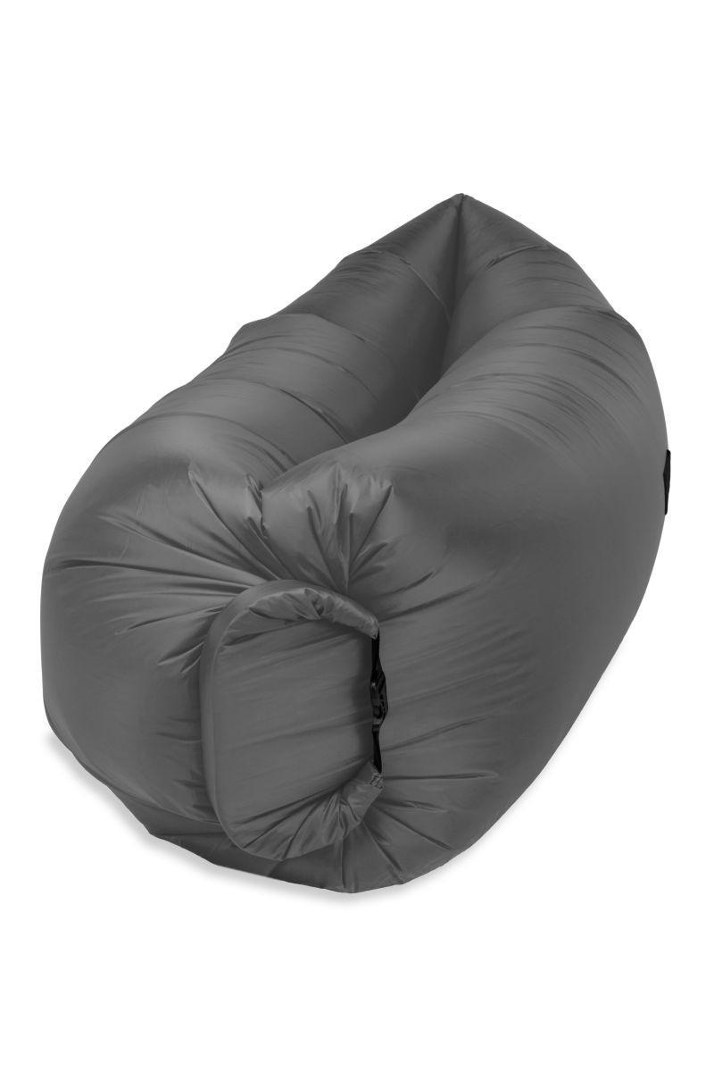 Надувной шезлонг Оxford pu серый